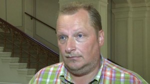 """Ex-DDR-Kreisstaatsanwalt Sebastian Matthieu – für viele Betroffene ein """"Hau-drauf"""" bis es nicht mehr geht, so seine vielen Opfer auch aus DDR-Zeiten."""