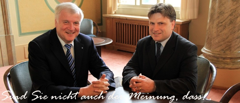 das diese beiden Halunken die unkontrollierte Justiz in Bayern zur Staatsterrorvereinigung ausgebaut haben?