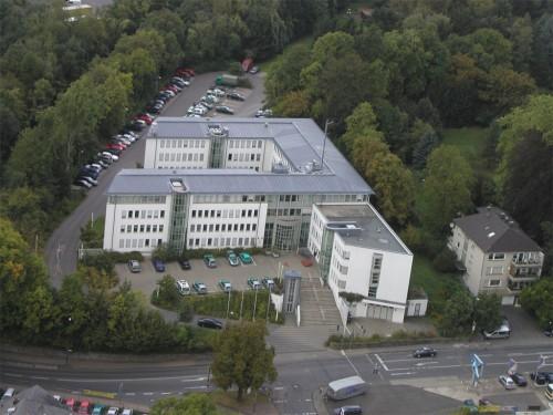 Der Tatort der kollektiven Vertuschung. Polizei des Rheinisch-Bergischen - Kreises.