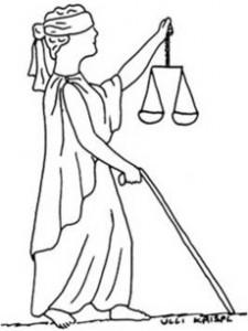 Justizia auf Abwegen oder Justizi gehört selbt vor Gericht!