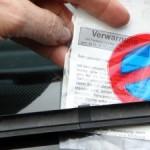 Gezielte Jagd: Deutsche Politessen müssen sich an Quoten halten. 40 Verwarungen sind Standdard.
