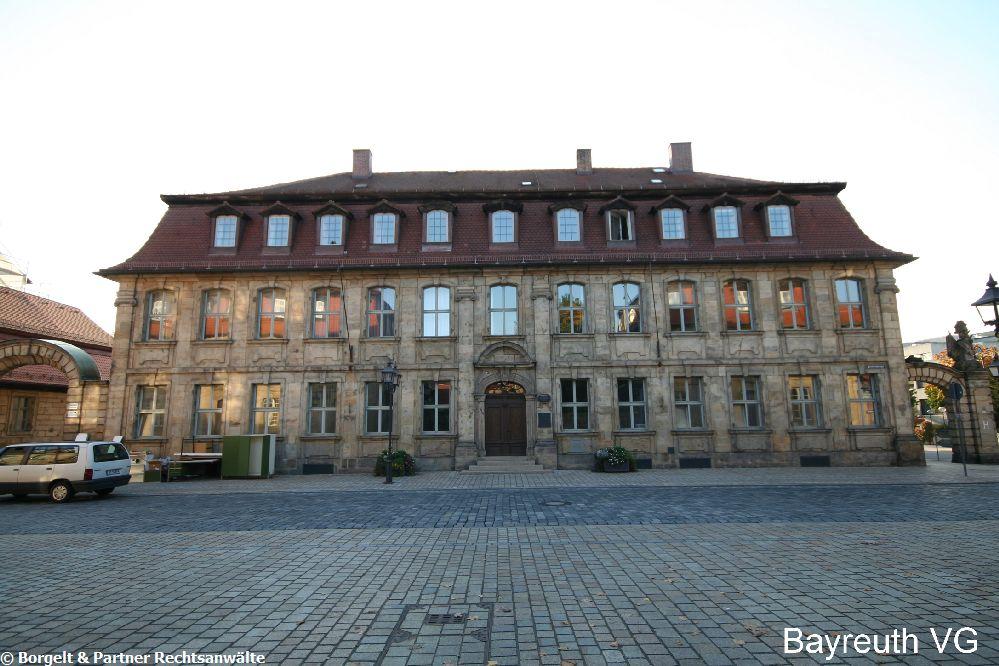 Verwaltungsgericht Bayreuth eine Oase der Ignorierung des Bau- und Nachbarschaftsrechts.