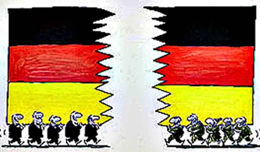 """Abschaum Ost und Bodensatz West nennen sich jetzt """"Demokratischer Rechtsstaat"""" ! Das ist die traurige Wirklichkeit im Lande!"""