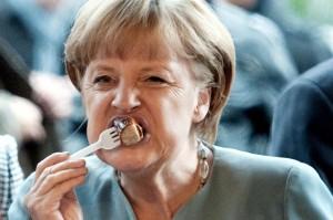 Kohl : Die kann ja noch nicht mal richtig mit Messer und Gabel essen.
